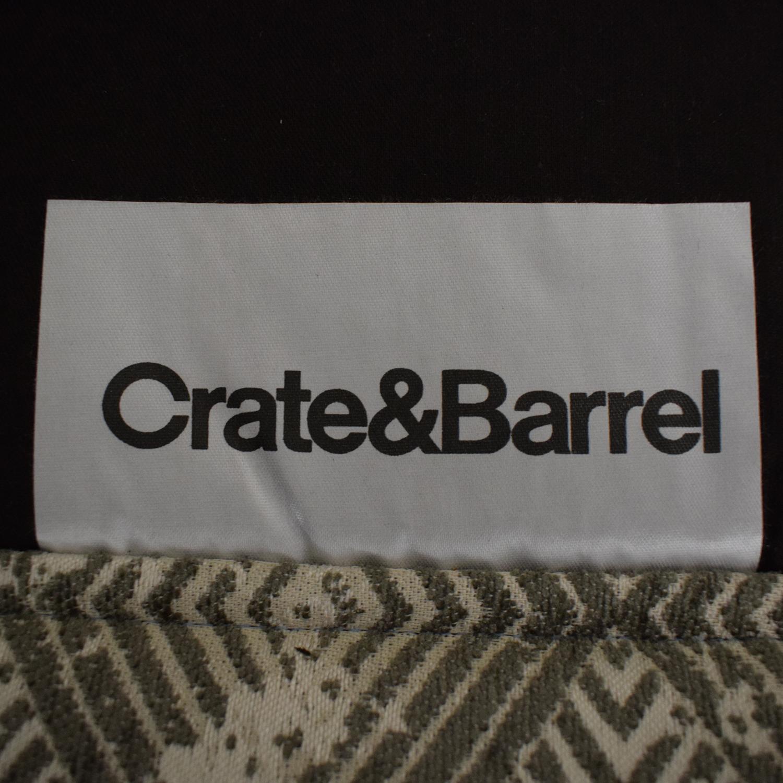 Crate & Barrel Crate & Barrel Torino Recliner nyc