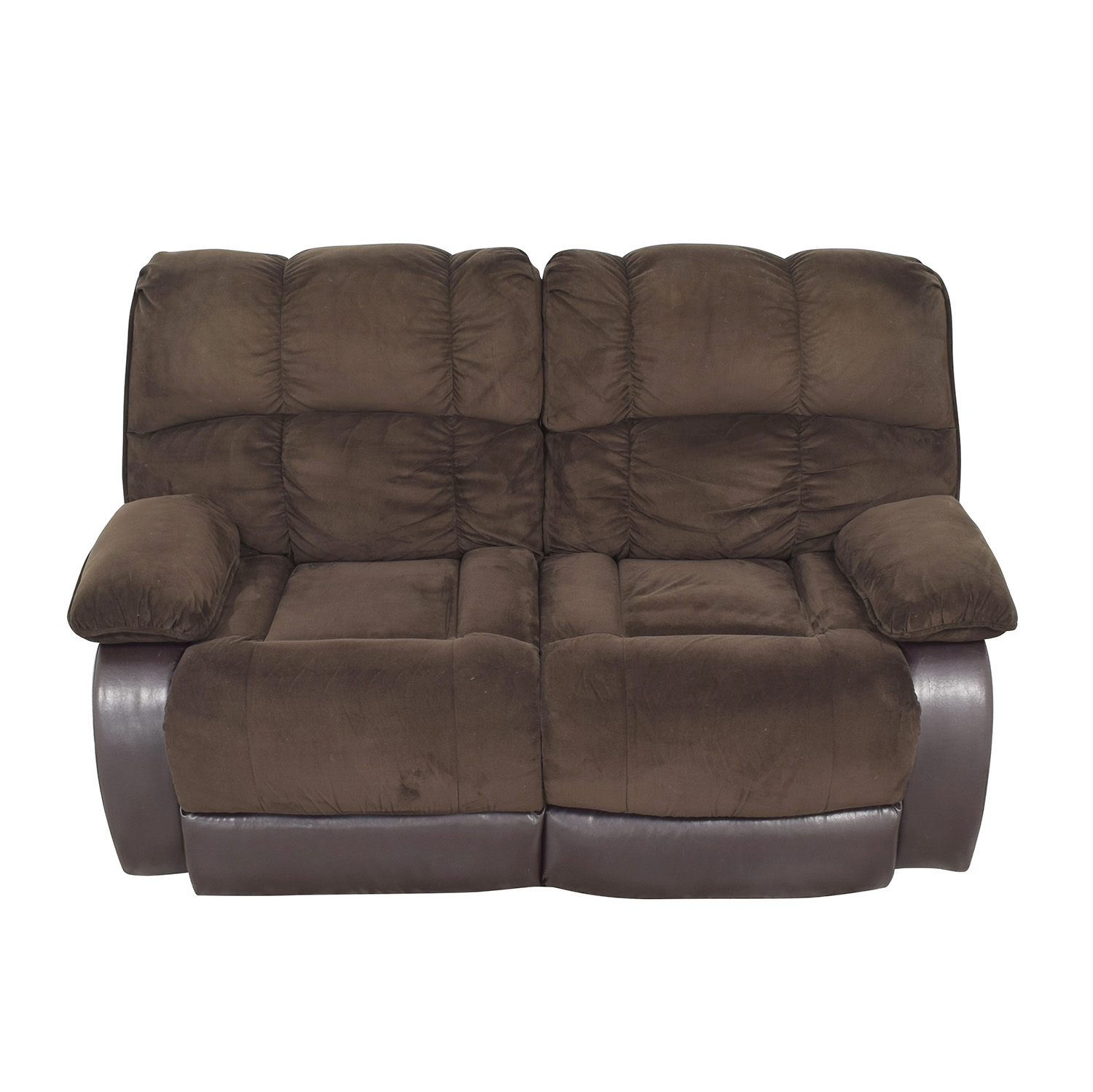 Raymour & Flanigan Raymour & Flanigan Reclining Loveseat dimensions