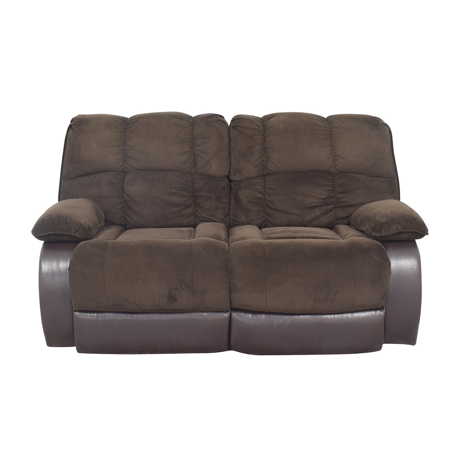 Raymour & Flanigan Raymour & Flanigan Reclining Loveseat ct