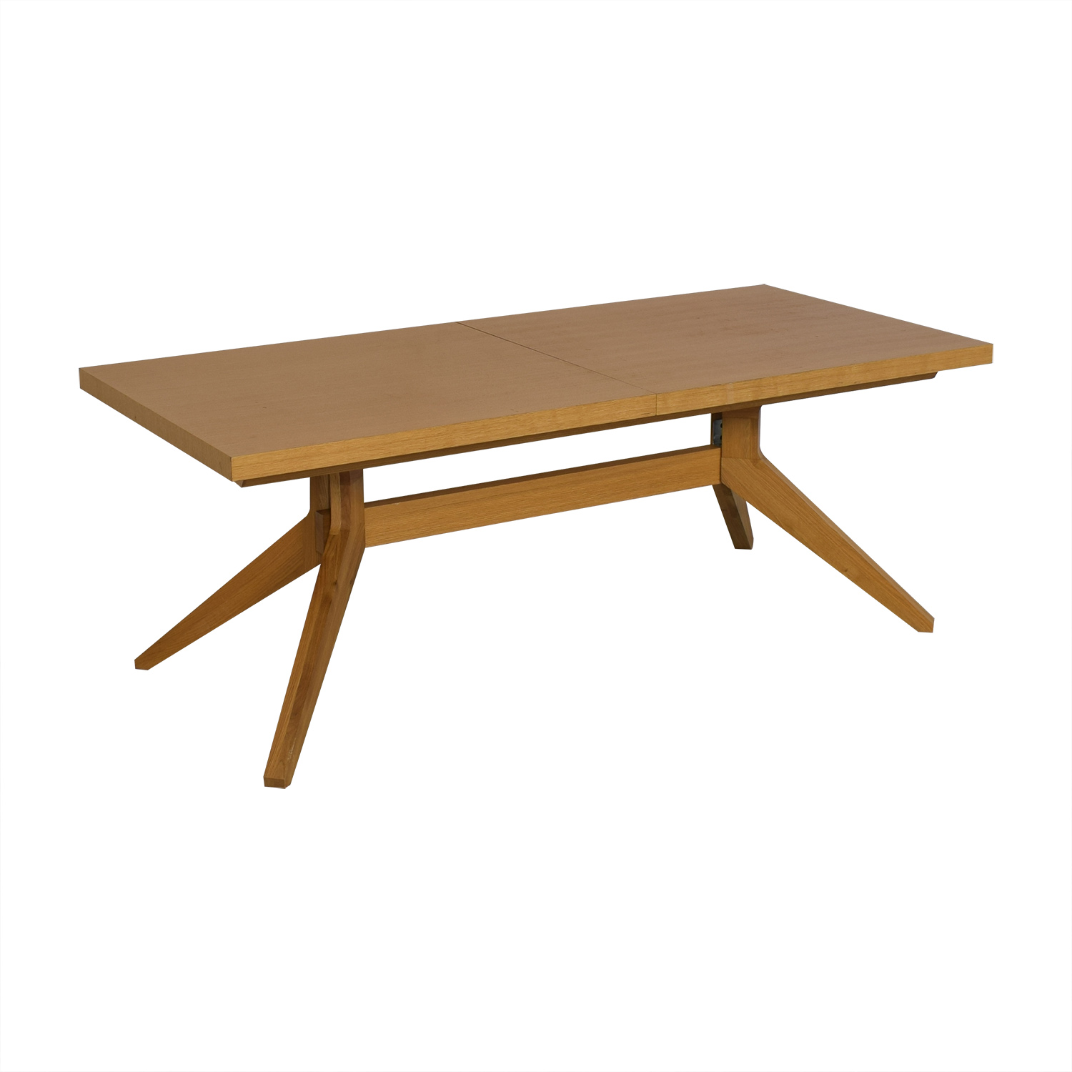 shop Design Within Reach Cross Extension Table Design Within Reach Tables