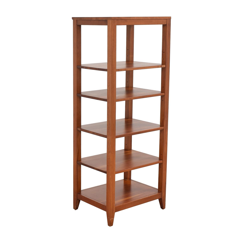 buy Ethan Allen Tower Shelf Ethan Allen Storage