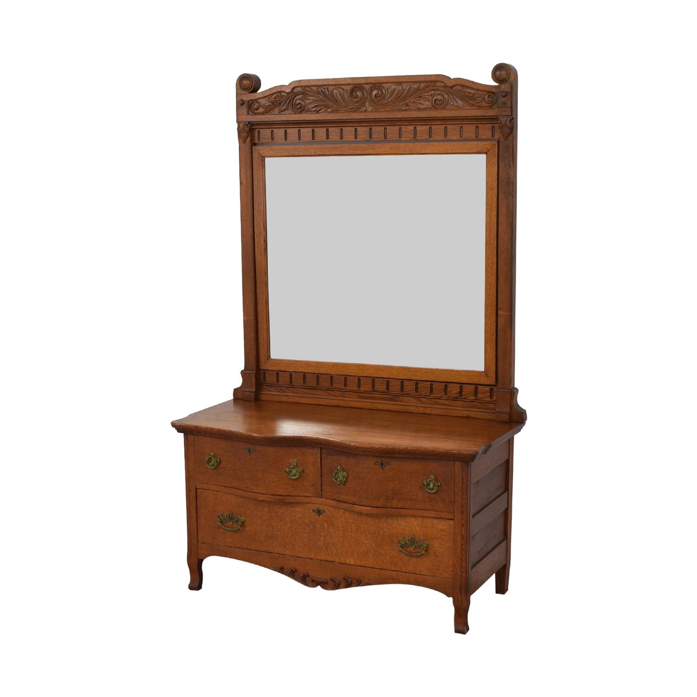 Woodward Furniture Works Dresser with Mirror / Dressers