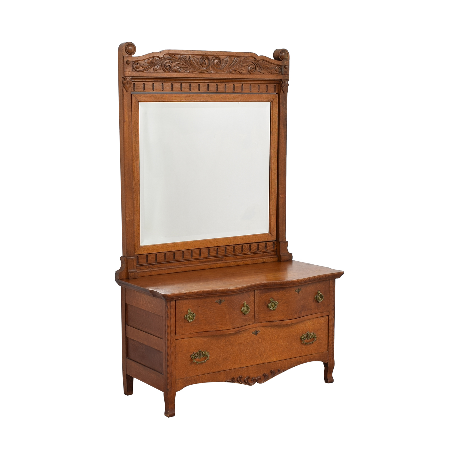 buy Woodward Furniture Works Dresser with Mirror Woodward Furniture Works
