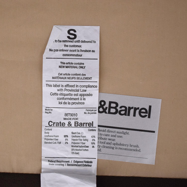 shop Crate & Barrel Crate & Barrel Lounge II 2-Piece Sectional Sofa online