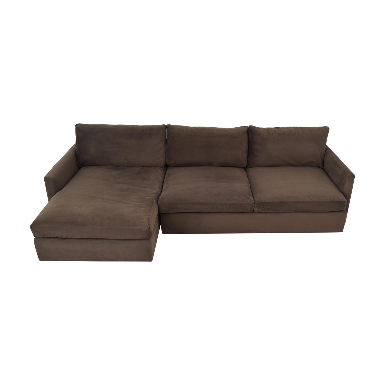 Crate & Barrel Crate & Barrel Lounge II 2-Piece Sectional Sofa nyc