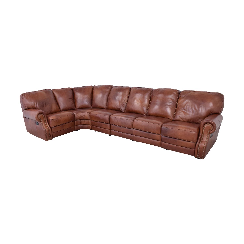 DeCoro DeCoro Rounded Corner Sectional Sofa ma