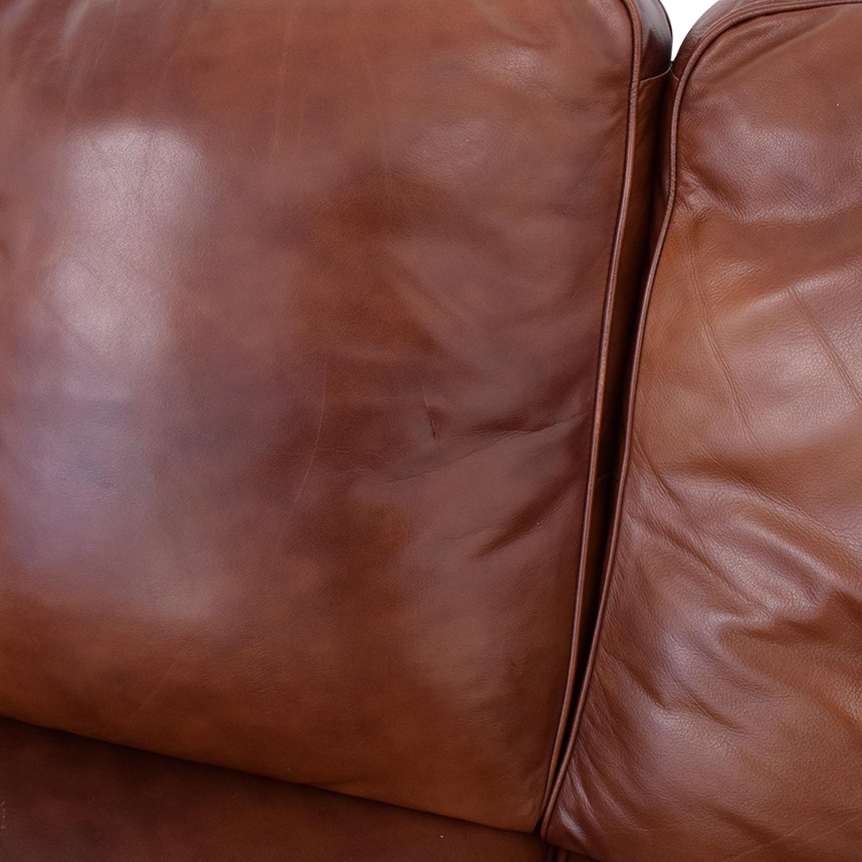 DeCoro Rounded Corner Sectional Sofa sale
