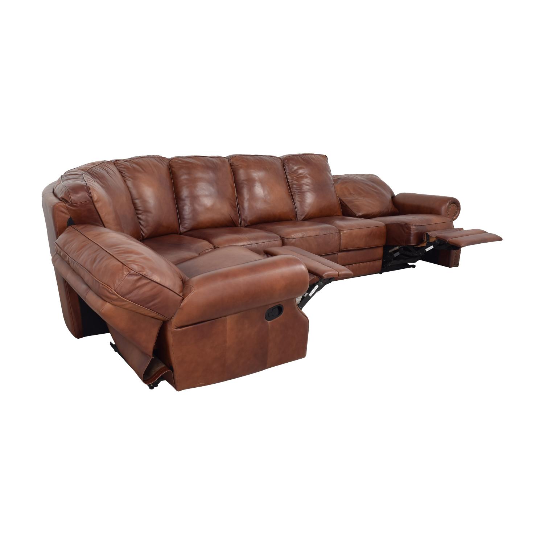 DeCoro DeCoro Rounded Corner Sectional Sofa coupon