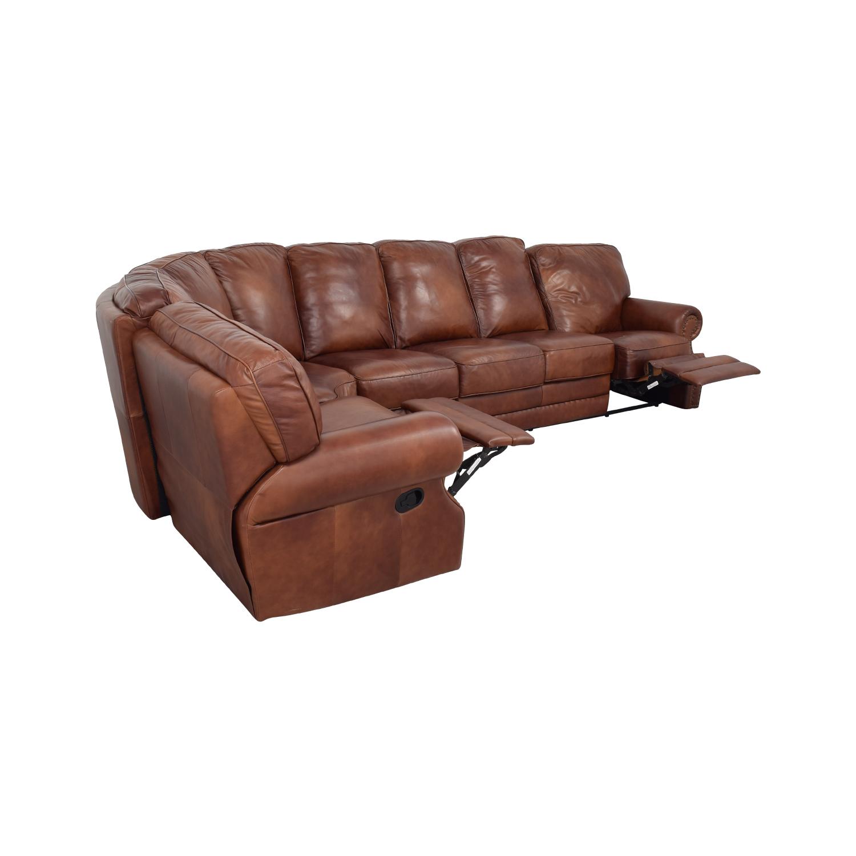 DeCoro DeCoro Rounded Corner Sectional Sofa Sofas