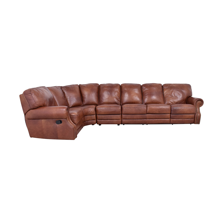 DeCoro DeCoro Rounded Corner Sectional Sofa used