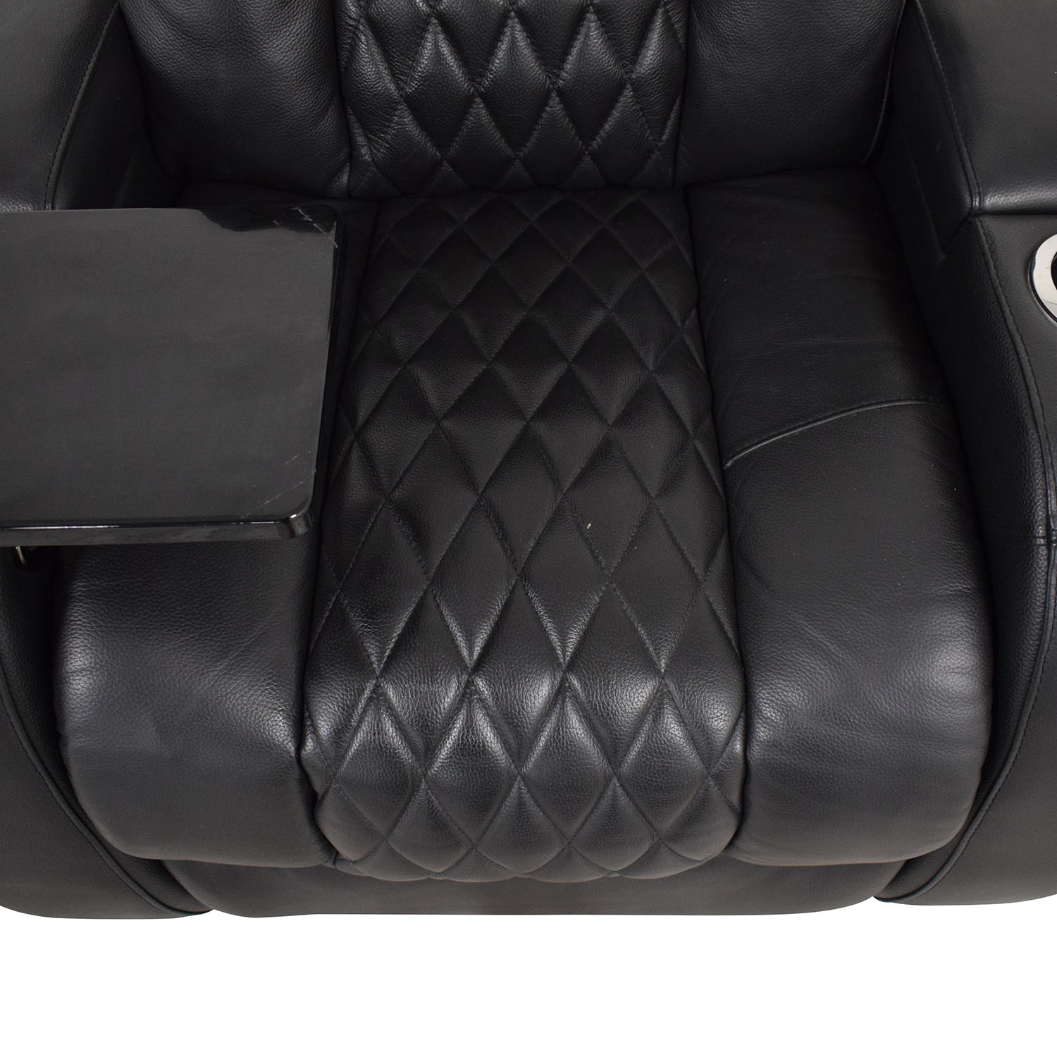 Seatcraft Seatcraft Diamante Home Theater Seating Leather Power Recliner Recliners