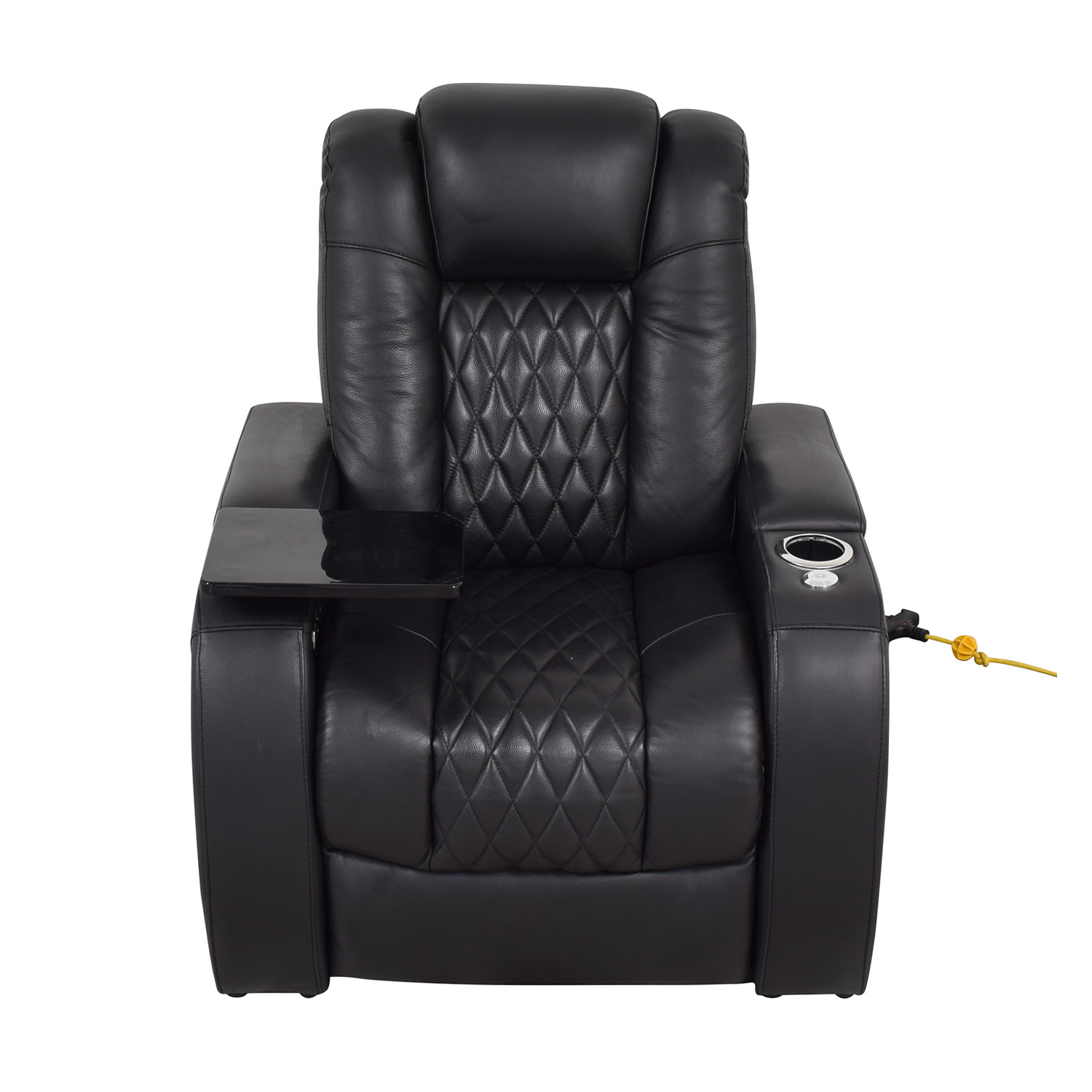 Seatcraft Seatcraft Diamante Home Theater Seating Leather Power Recliner on sale