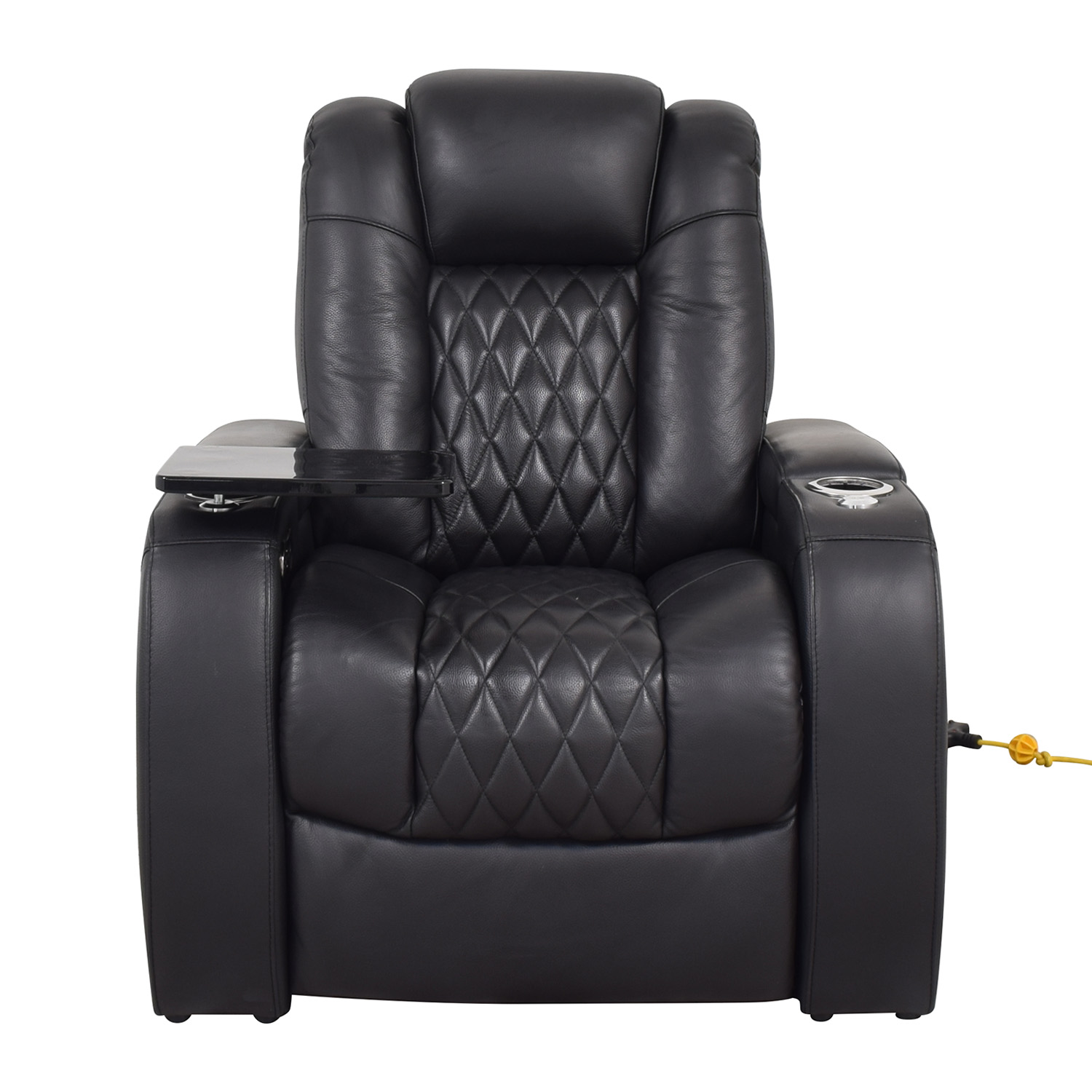 Seatcraft Seatcraft Diamante Home Theater Seating Leather Power Recliner coupon