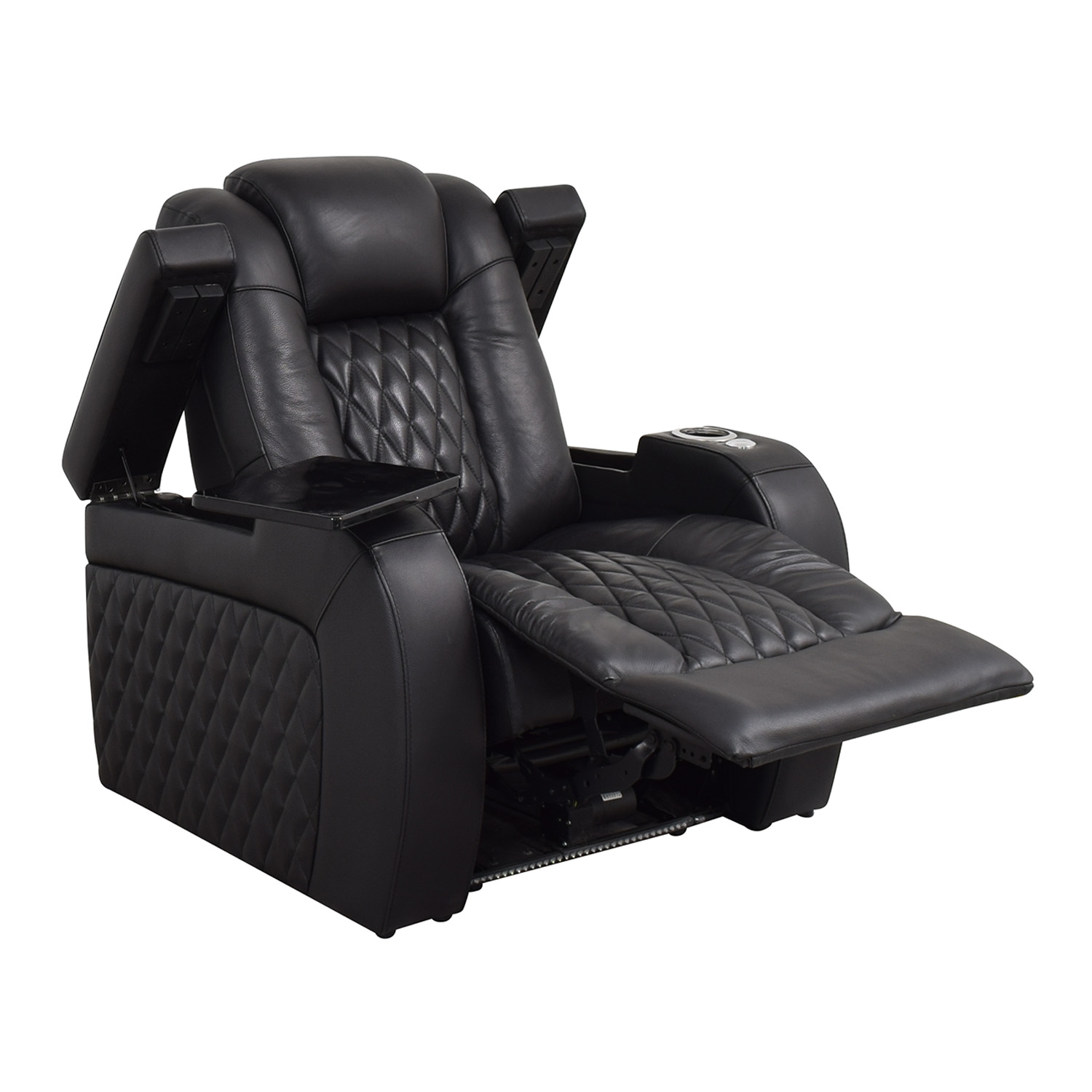 Seatcraft Seatcraft Diamante Home Theater Seating Leather Power Recliner nyc