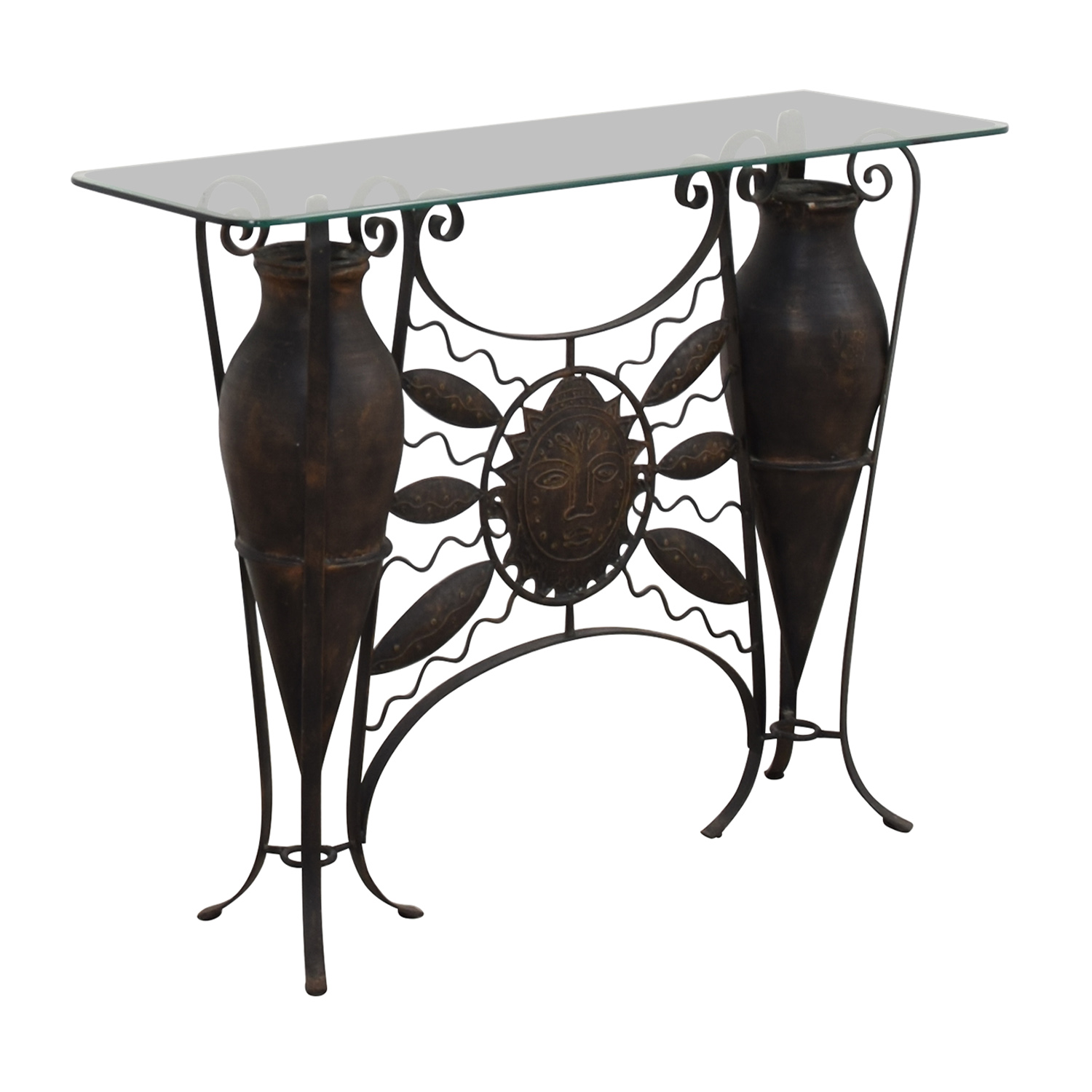 buy Glass Console Table  Accent Tables