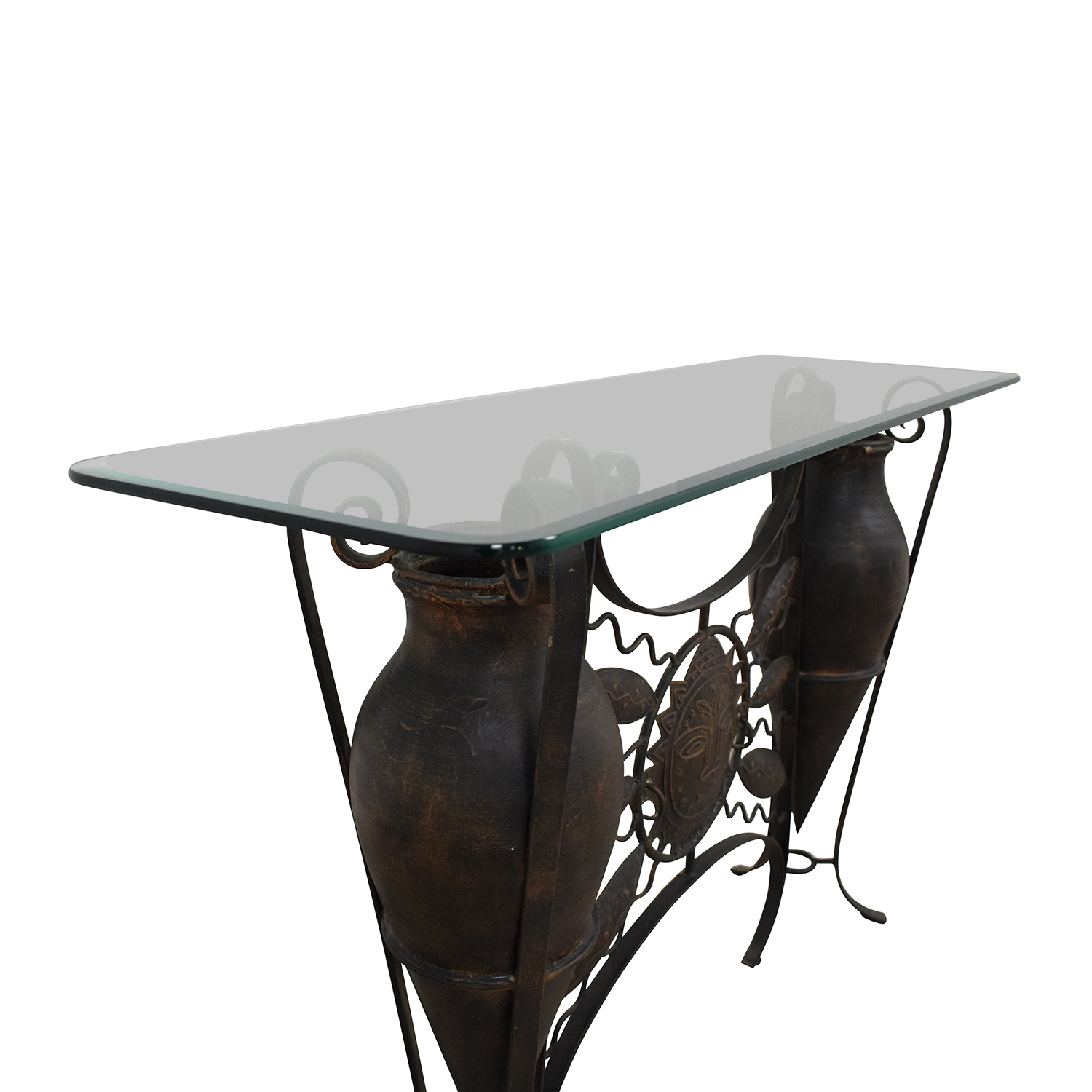 shop Glass Console Table  Tables