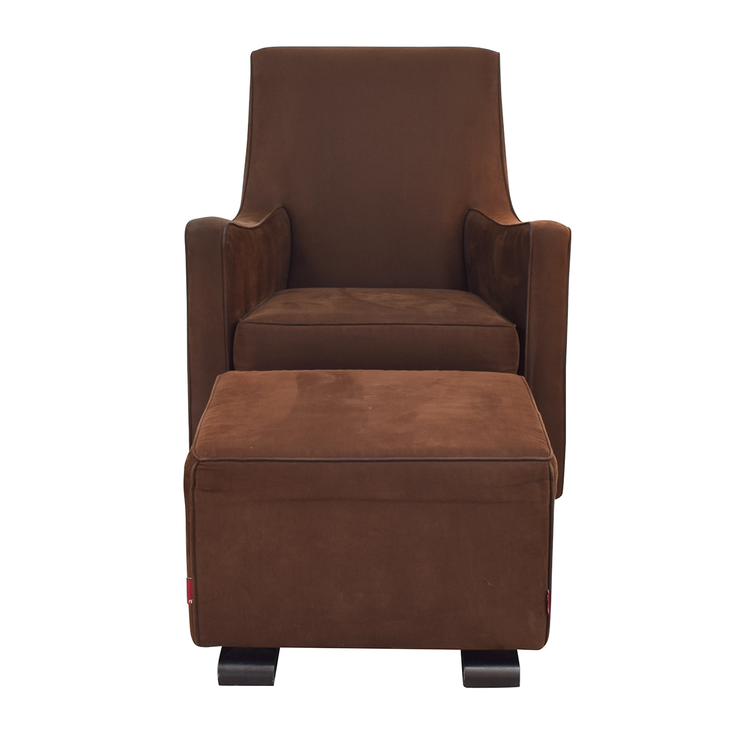 Monte Design Monte Arm Chair and Ottoman nj