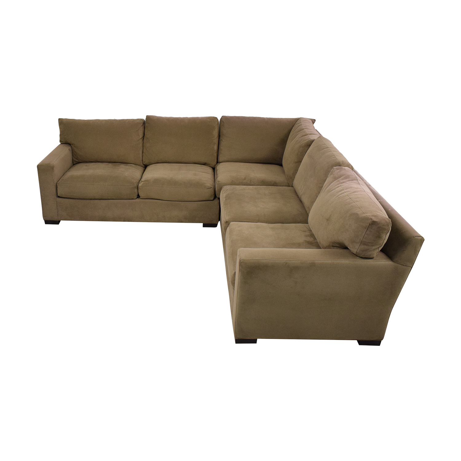Crate & Barrel Axis II 3-Piece Sectional Sofa Crate & Barrel