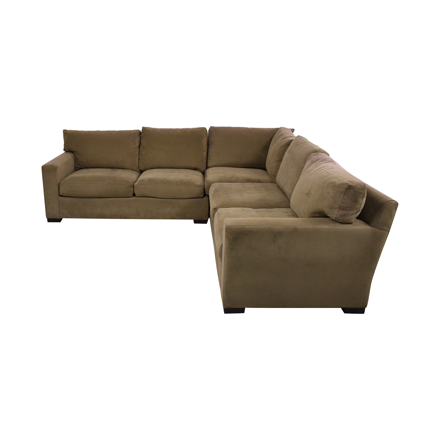 shop Crate & Barrel Axis II 3-Piece Sectional Sofa Crate & Barrel Sectionals