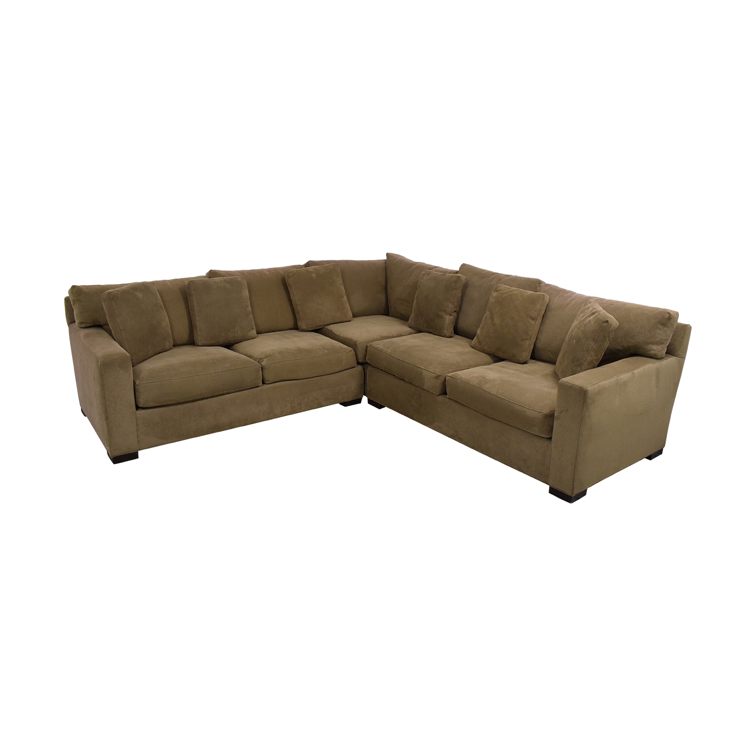 shop Crate & Barrel Axis II 3-Piece Sectional Sofa Crate & Barrel Sofas