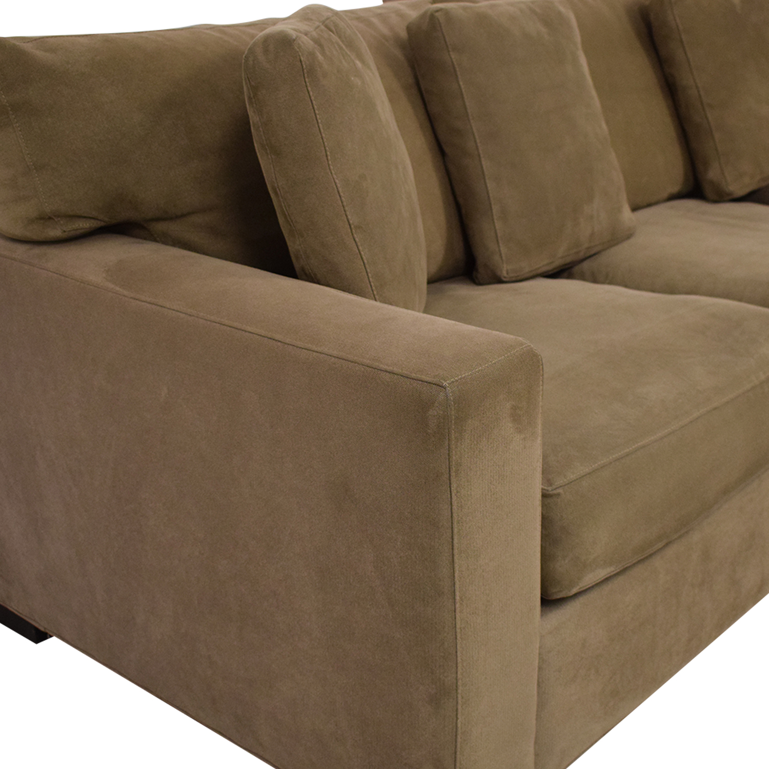 buy Crate & Barrel Axis II 3-Piece Sectional Sofa Crate & Barrel Sectionals