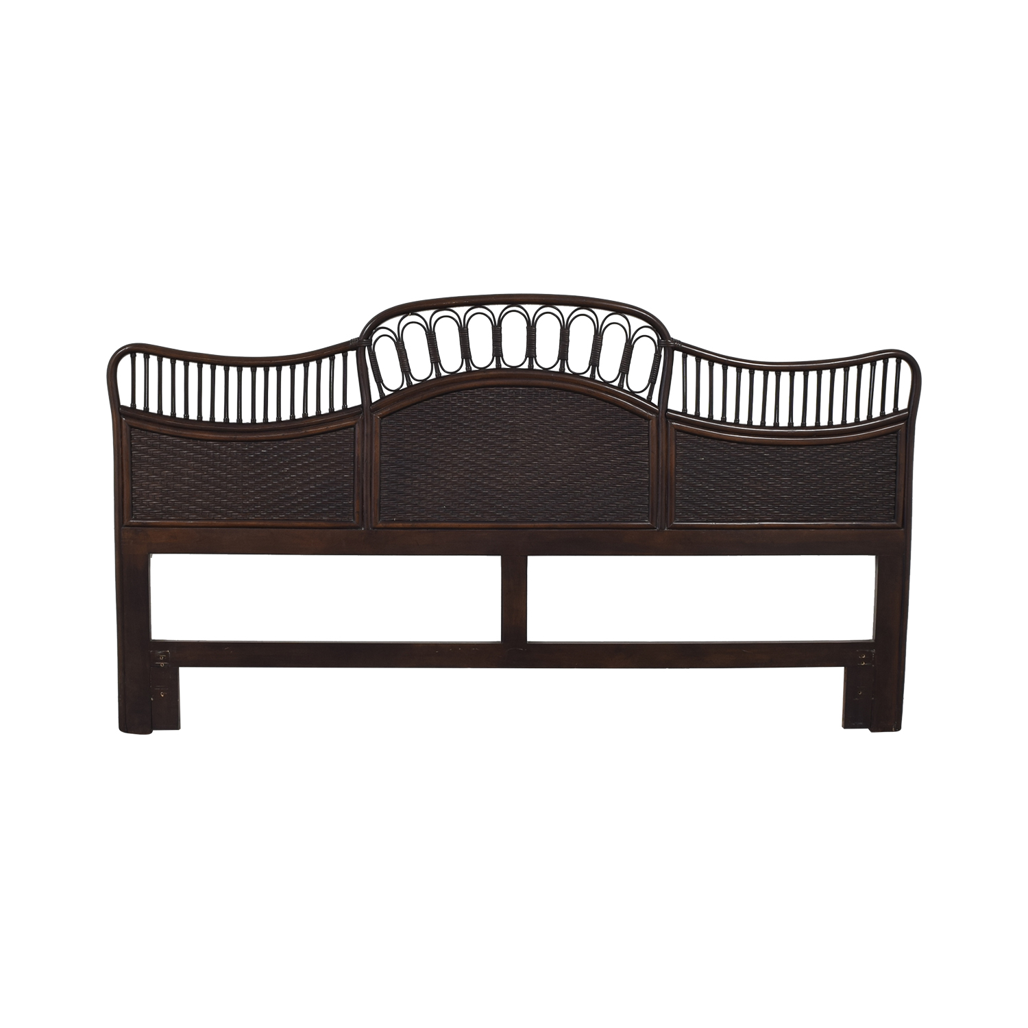 Ficks Reed Ficks Reed Rattan King Headboard on sale