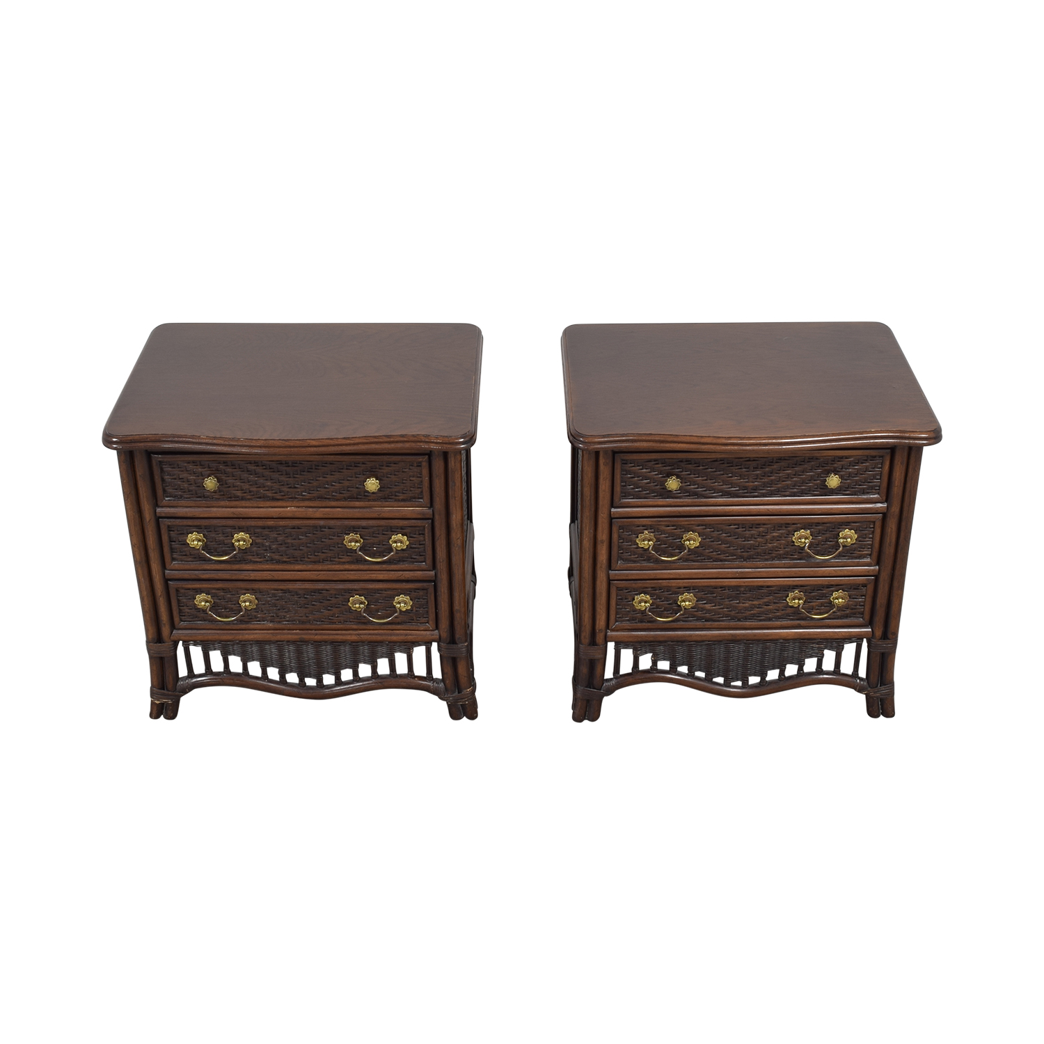 Ficks Reed Ficks Reed Rattan Nightstands coupon