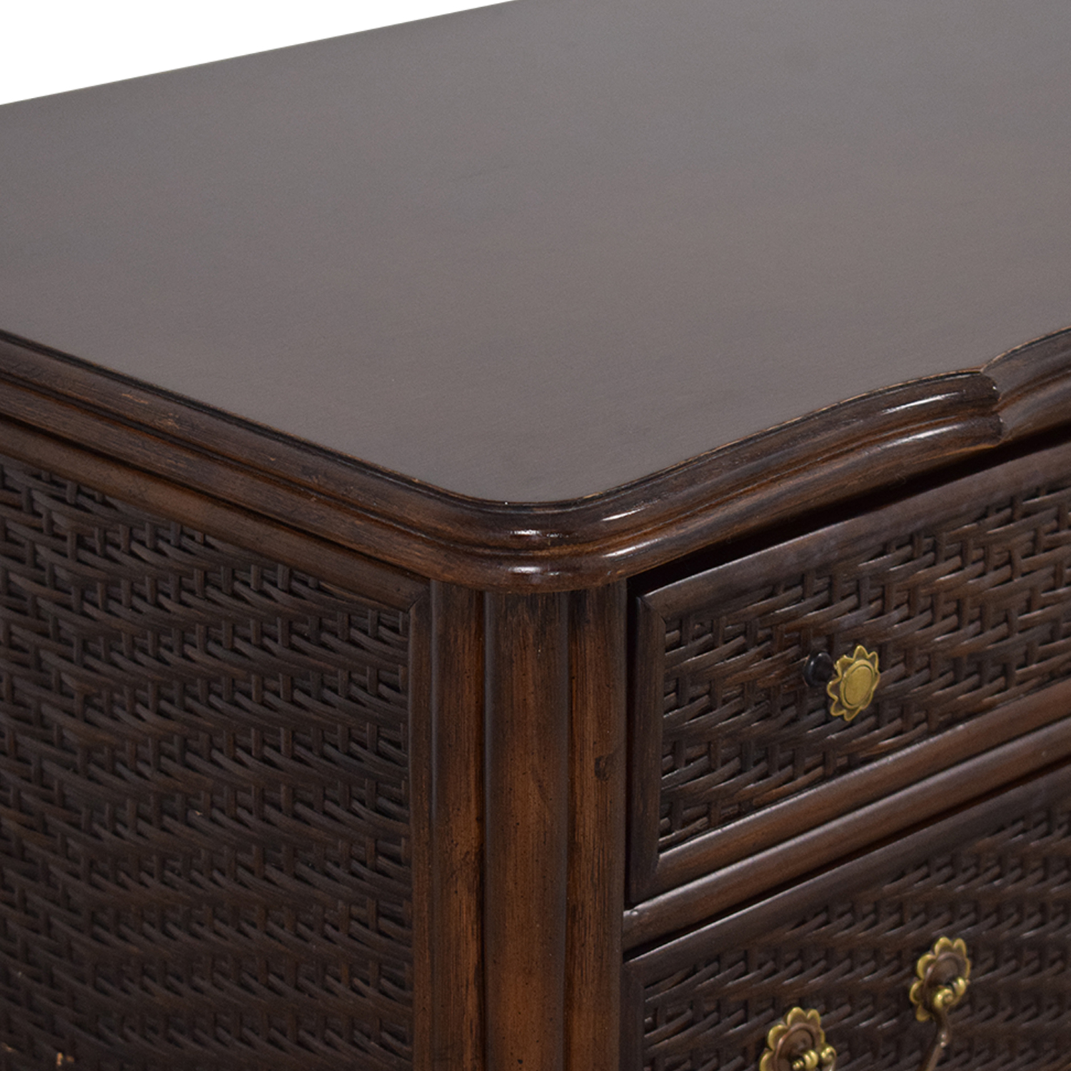 Ficks Reed Ficks Reed Rattan Dresser on sale