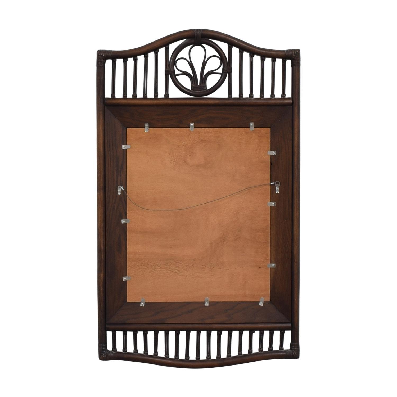 Ficks Reed Ficks Reed Rattan Wall Mirror price