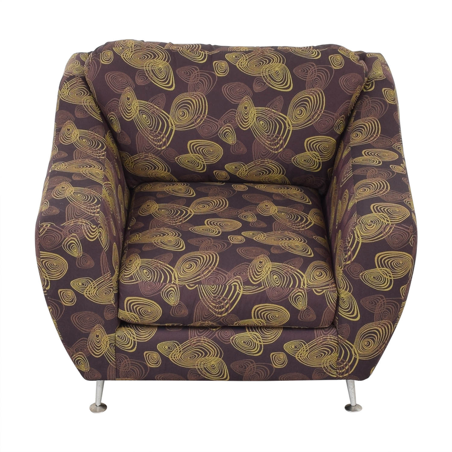 shop Carter Accent Chair and Ottoman Carter Furniture Accent Chairs