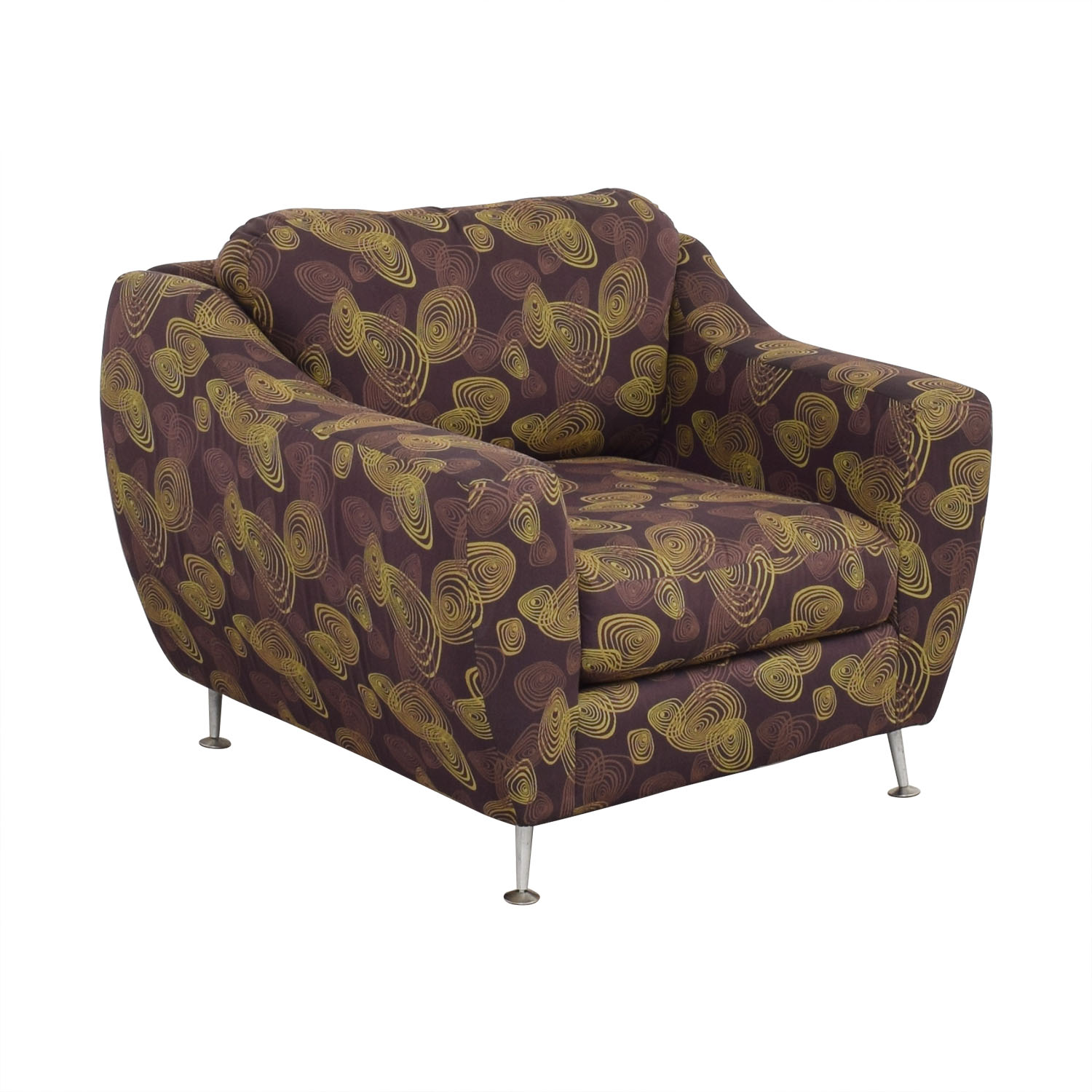 Carter Accent Chair and Ottoman Carter Furniture