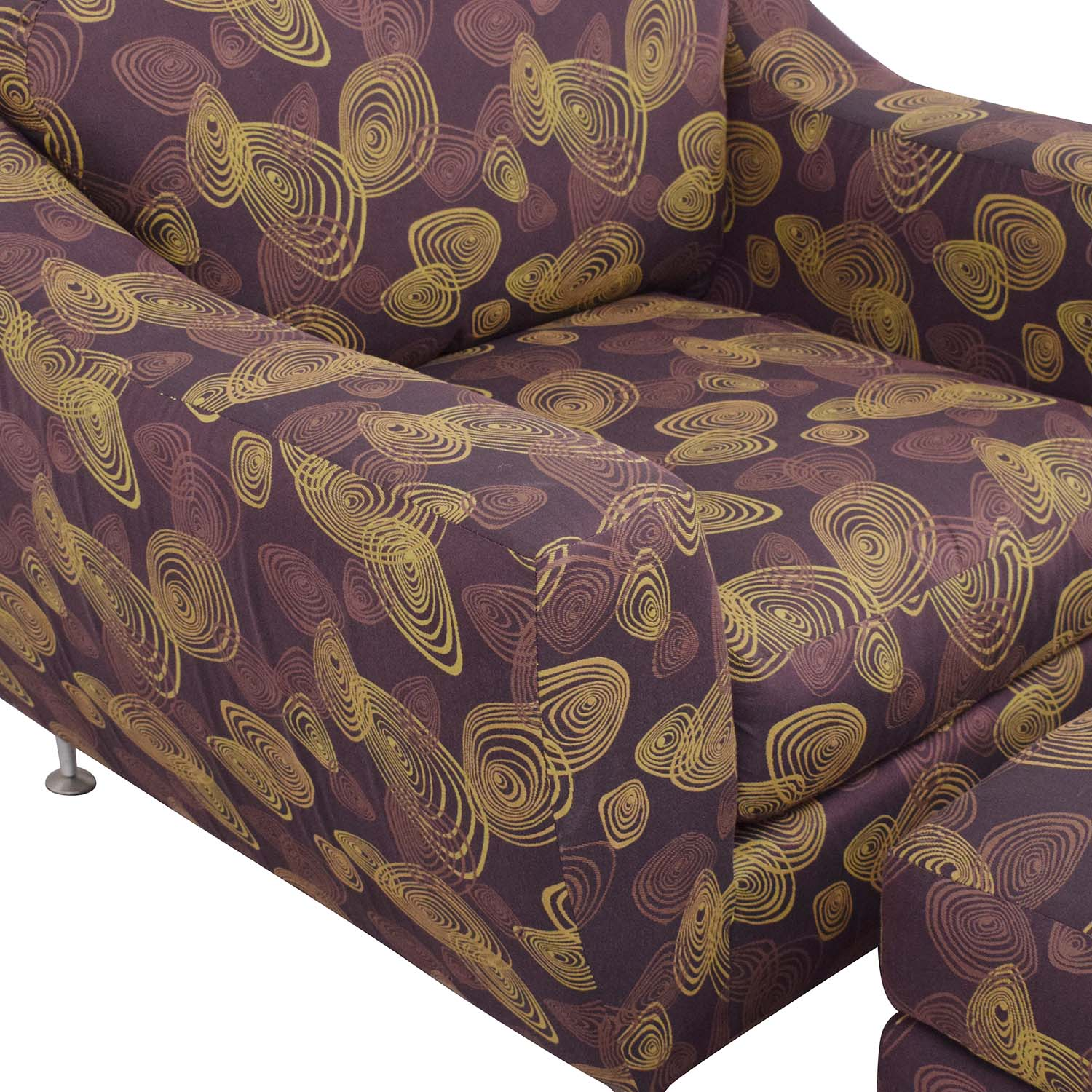 Carter Furniture Carter Accent Chair and Ottoman Accent Chairs