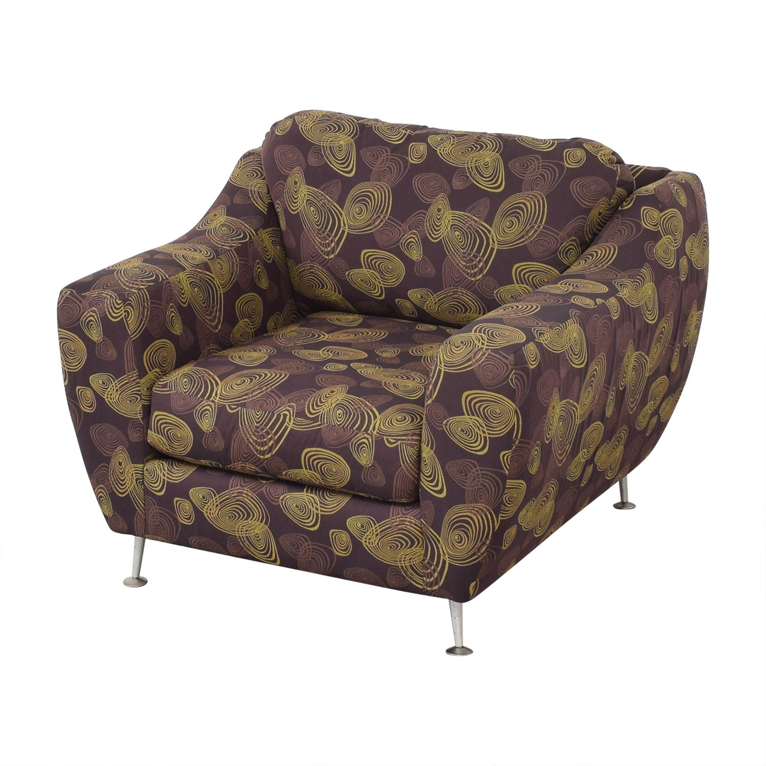 Carter Accent Chair and Ottoman sale