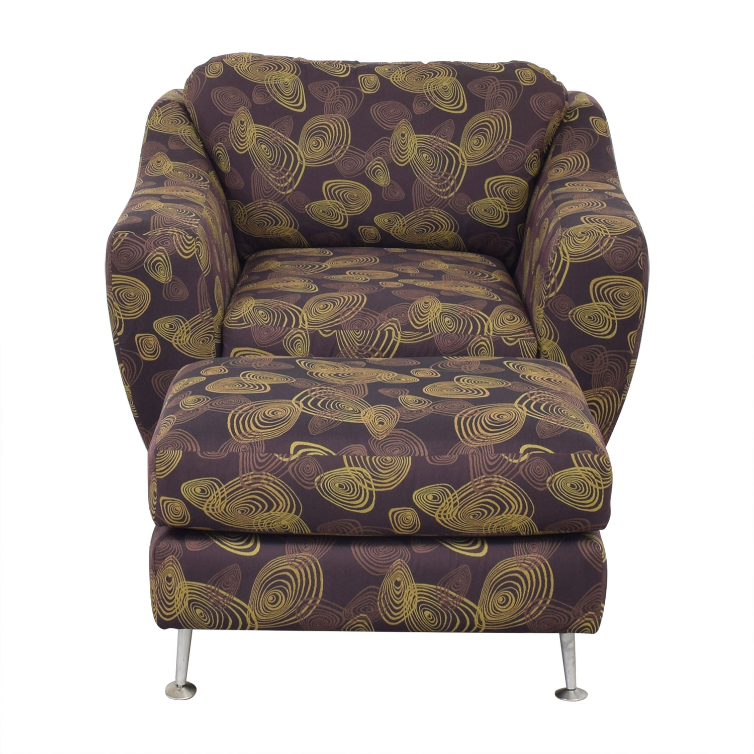 buy Carter Accent Chair and Ottoman Carter Furniture