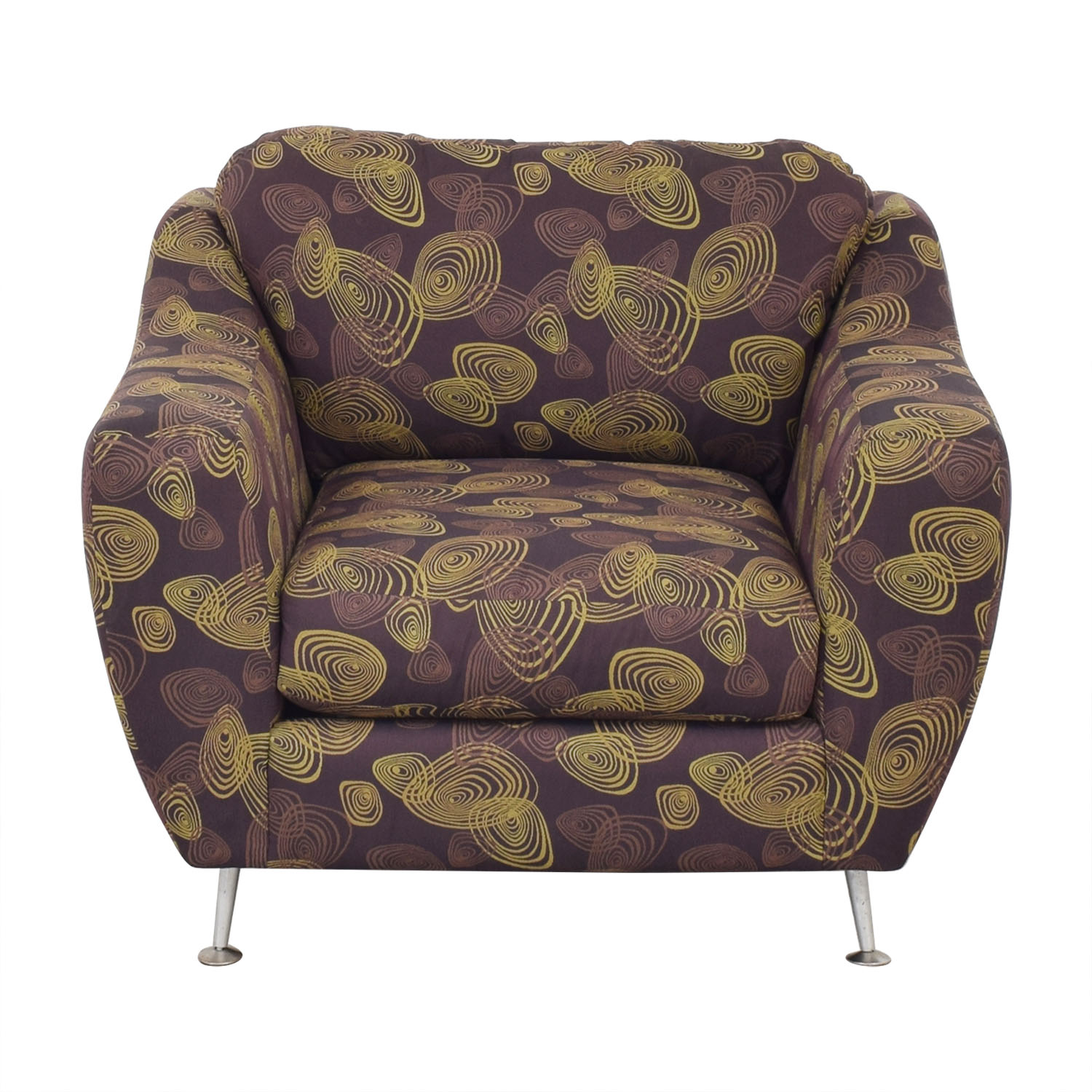 Carter Accent Chair and Ottoman / Accent Chairs