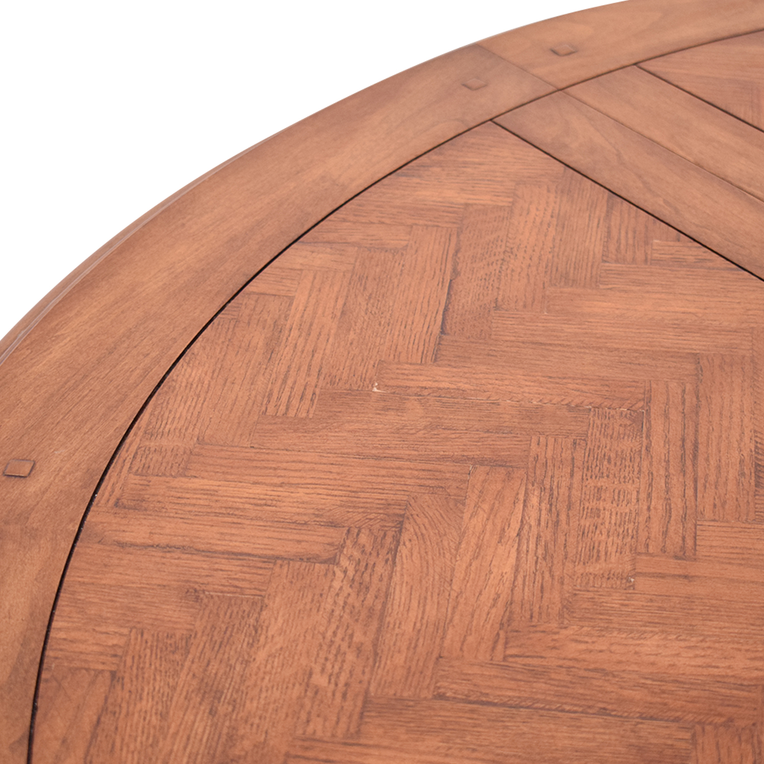 Round Dining Table brown