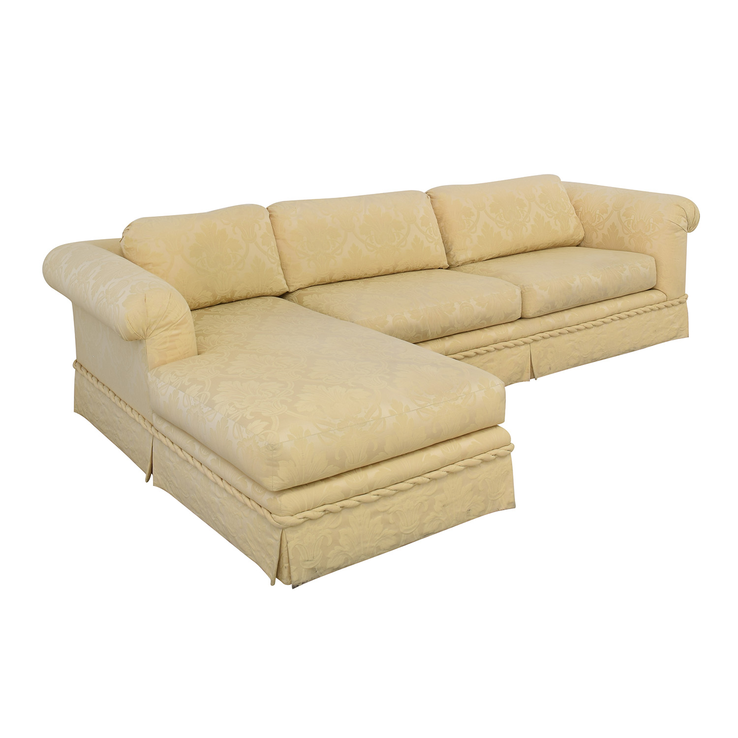 buy Kreiss Chaise Sectional Sofa Kreiss