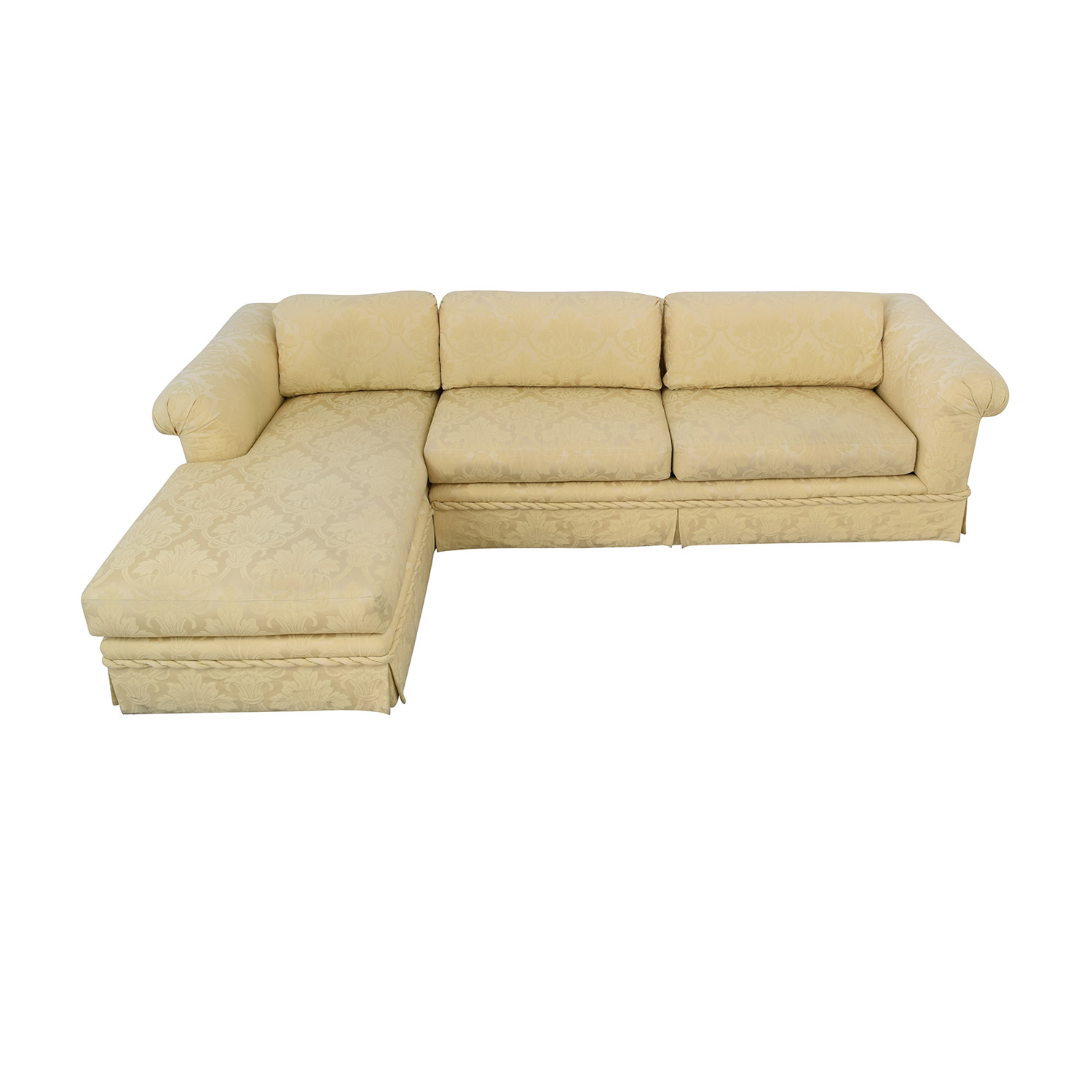 buy Kreiss Kreiss Chaise Sectional Sofa online