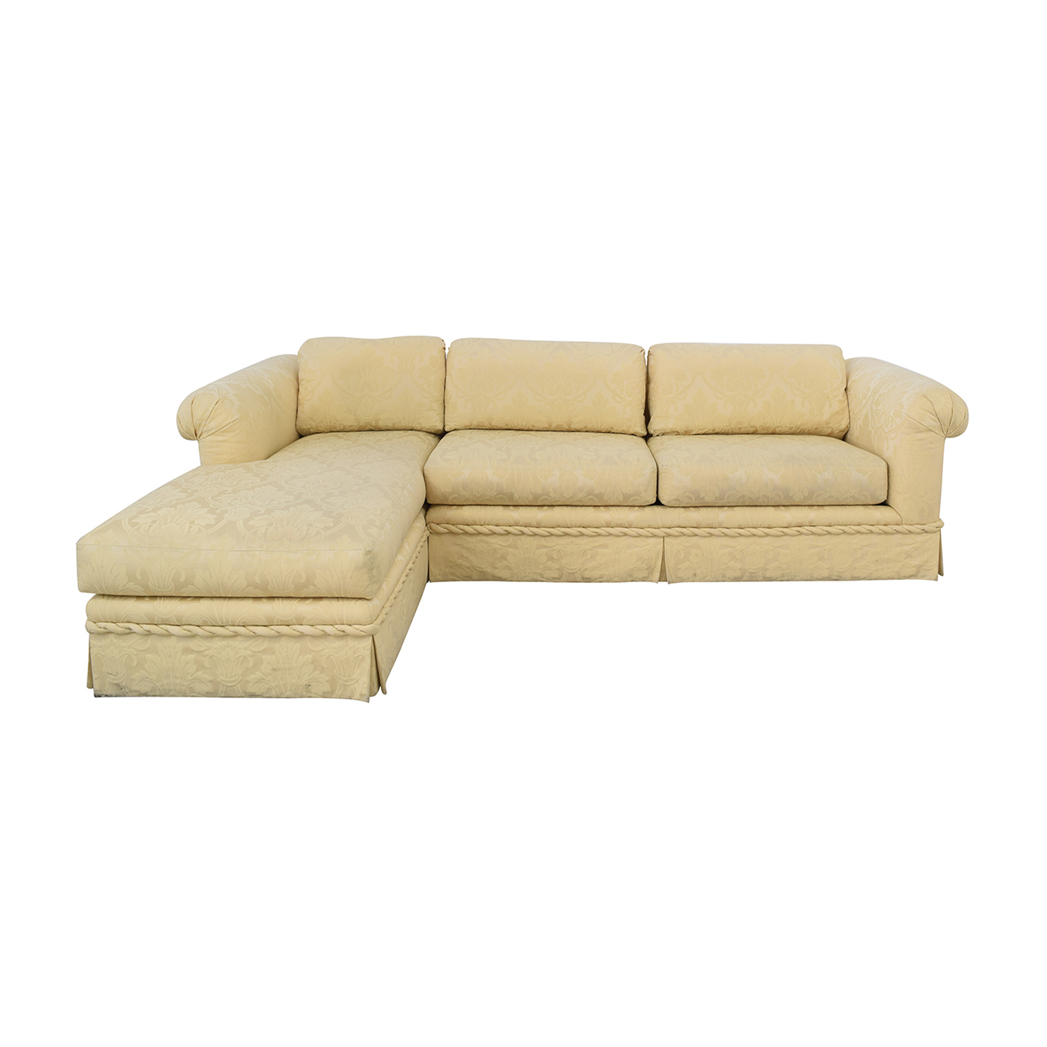 shop Kreiss Kreiss Chaise Sectional Sofa online