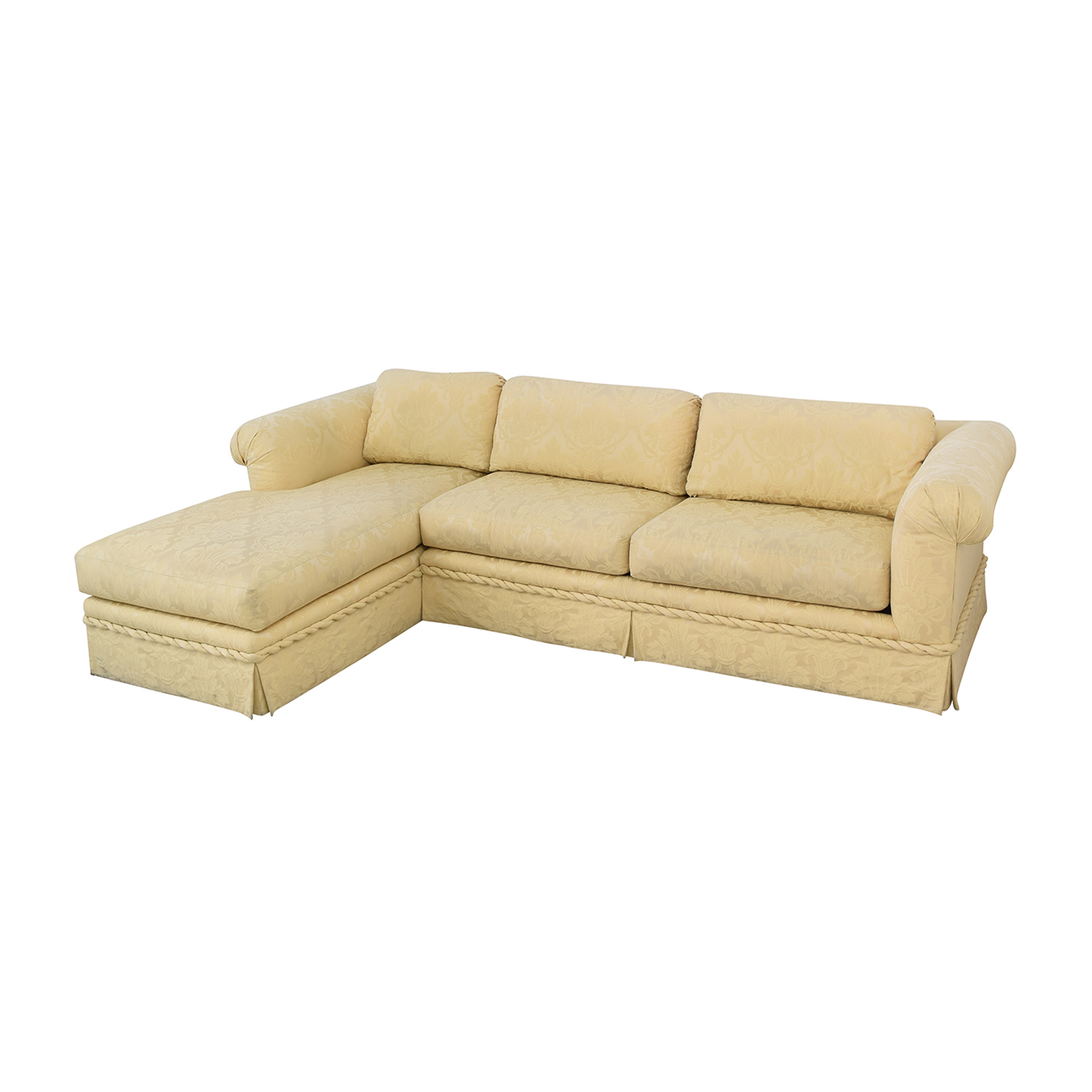 Kreiss Kreiss Chaise Sectional Sofa second hand