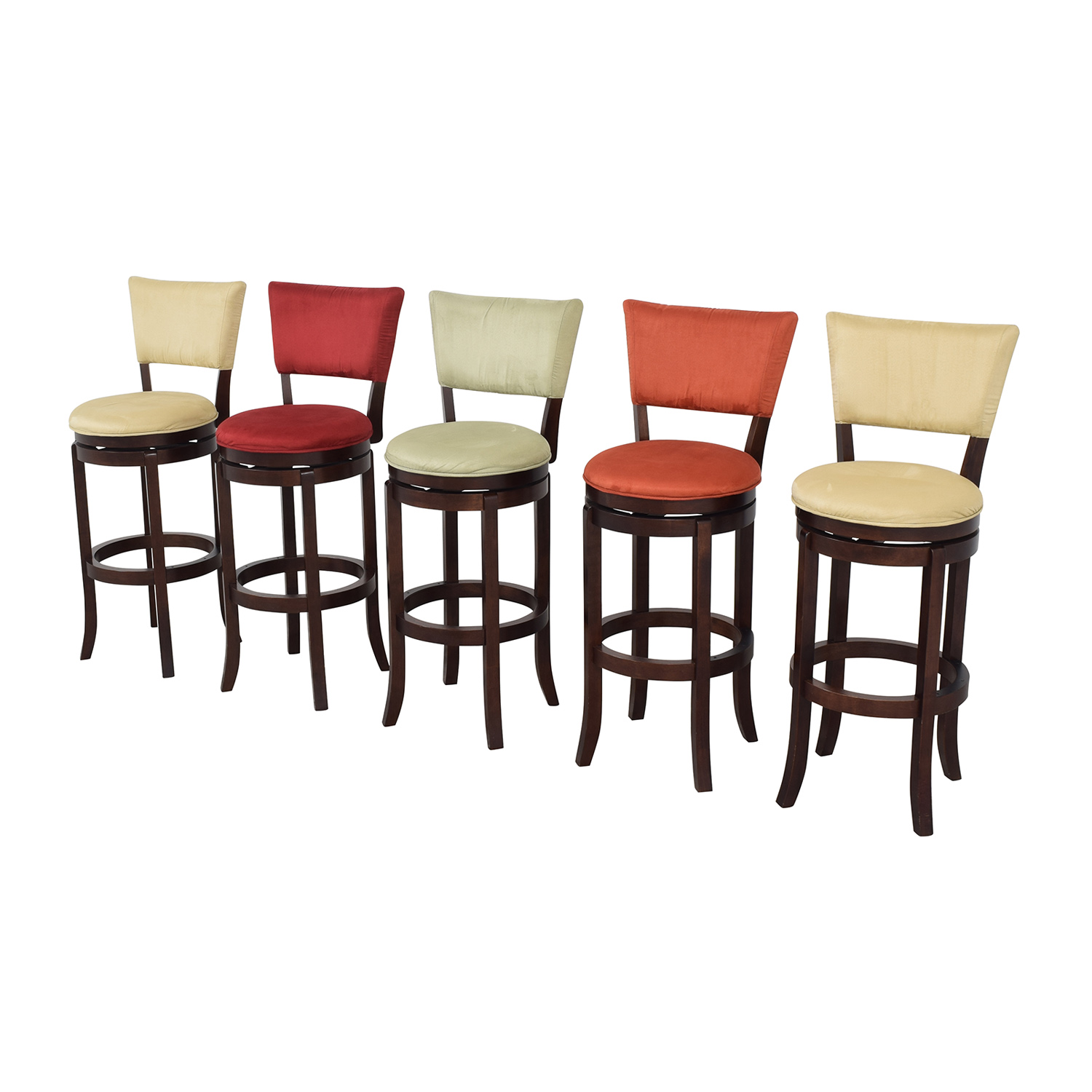 Rooms To Go Rooms To Go Keefer Bar Stools for sale