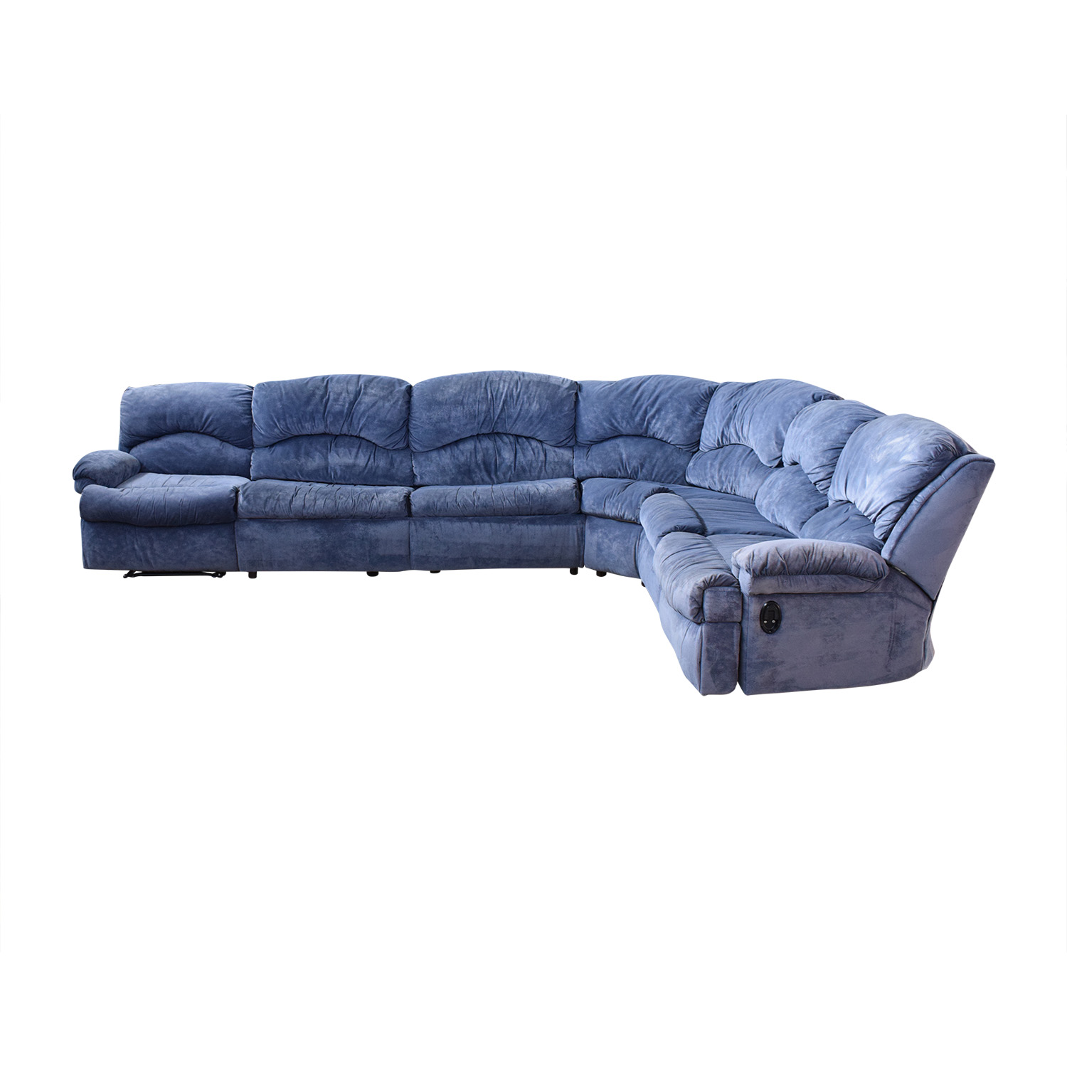 Raymour & Flanigan Raymour & Flanigan Sectional Sofa with Sleeper pa