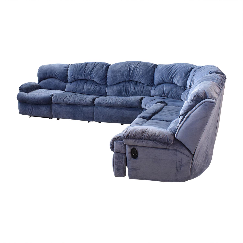 Raymour & Flanigan Raymour & Flanigan Sectional Sofa with Sleeper nj