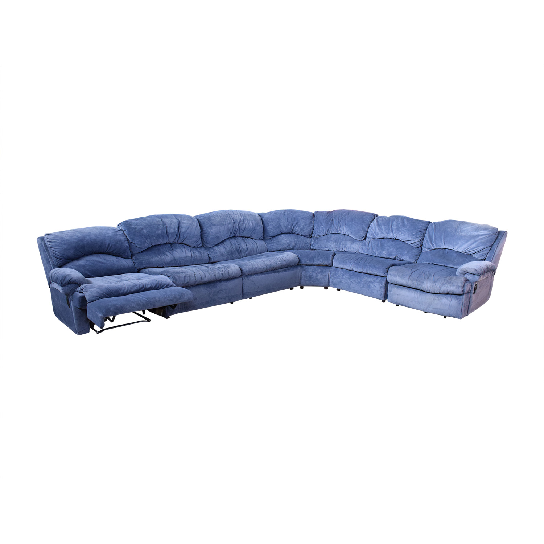 buy Raymour & Flanigan Sectional Sofa with Sleeper Raymour & Flanigan Sofas