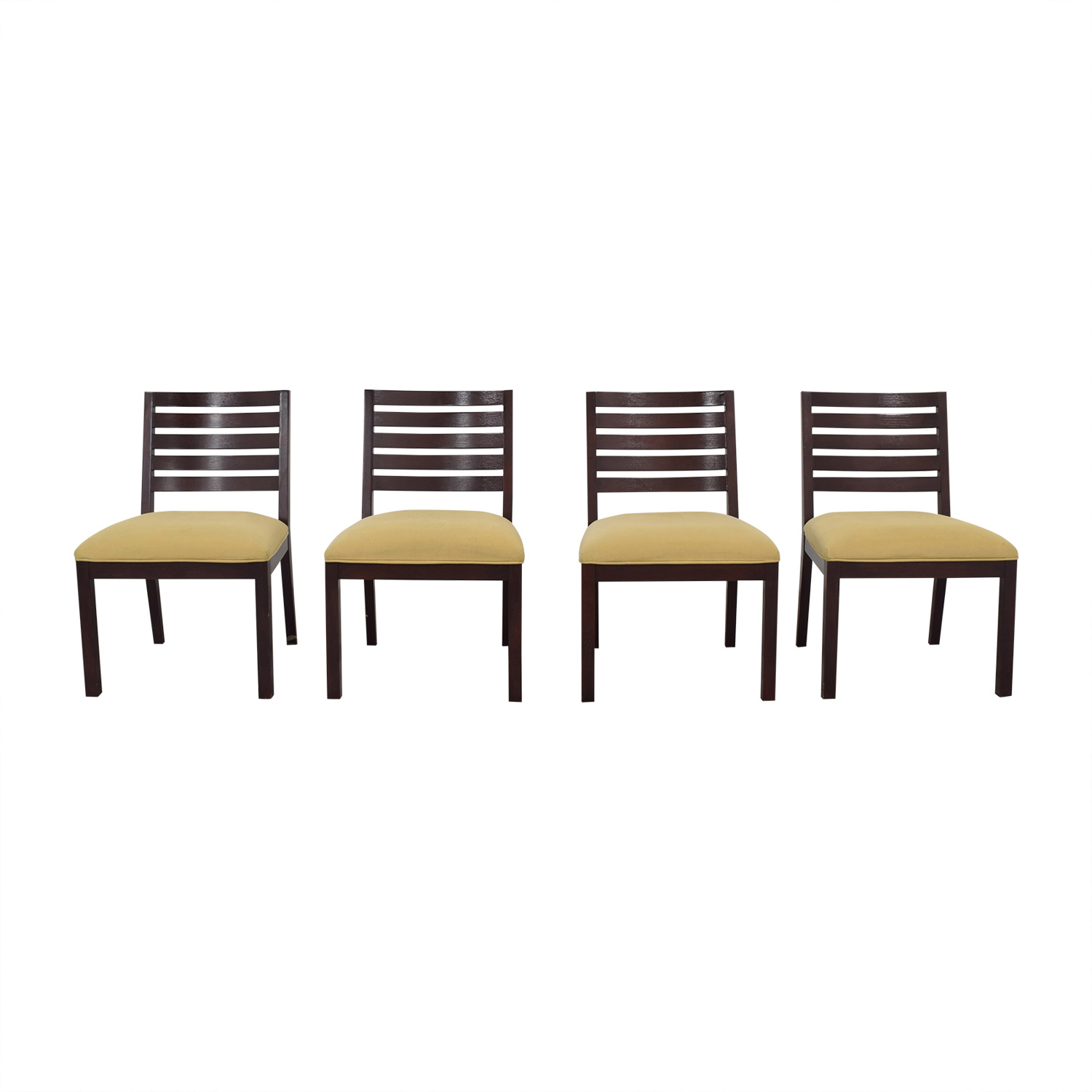 Ethan Allen Ethan Allen Dining Chairs tan and brown