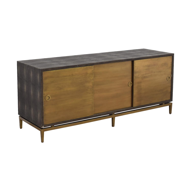 shop Noir Shagreen Cabinet Noir