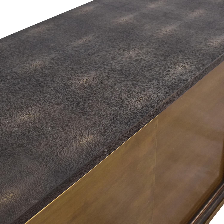 buy Noir Noir Shagreen Cabinet online