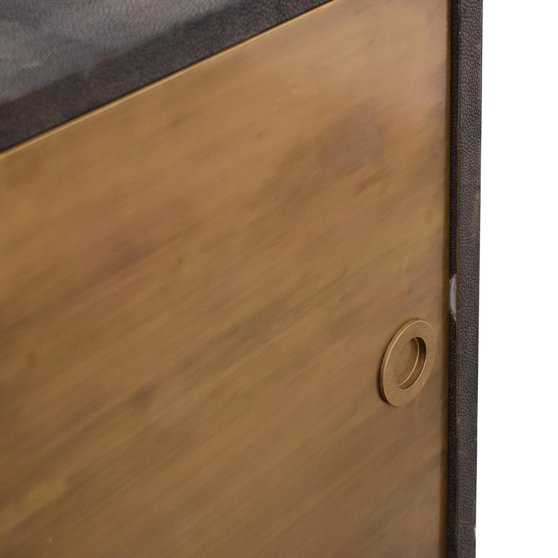 buy Noir Shagreen Cabinet Noir