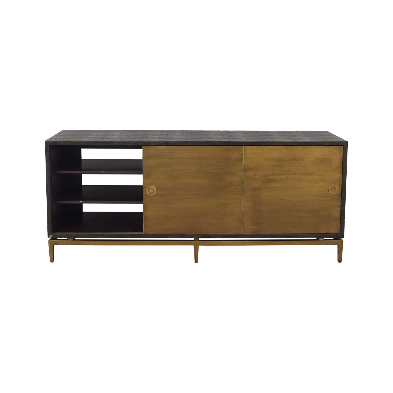 Noir Noir Shagreen Cabinet dimensions