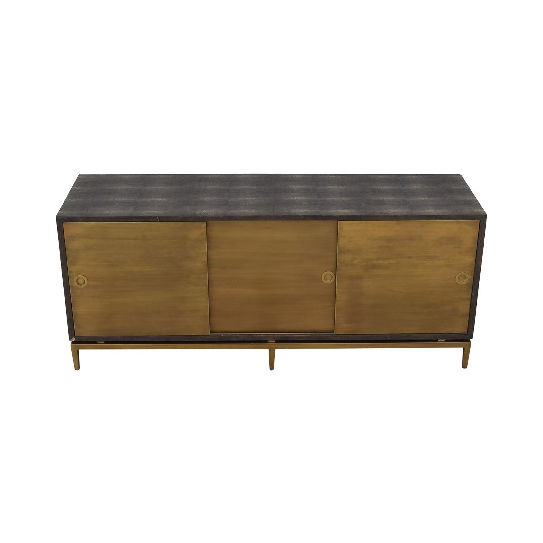 Noir Shagreen Cabinet / Cabinets & Sideboards